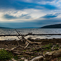 Buy canvas prints of Cayuga Lake Before a Storm by Nathan Bickel
