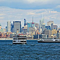 Buy canvas prints of NEW YORK CITY by Sue HASKER