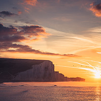 Buy canvas prints of Seven Sisters Waking by Ben Russell
