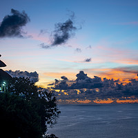 Buy canvas prints of Uluwatu Temple at Dusk by Ben Griffin