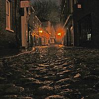 Buy canvas prints of Elm Hill in Norwich by Juha Agren