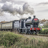 Buy canvas prints of The Santa Special by Shaun Davey