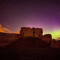 Buy canvas prints of DUFFUS CASTLE AURORA BOREALIS by Moray Nature
