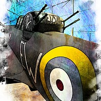 Buy canvas prints of Avro Lancaster  (WW2) by Peter Hunt
