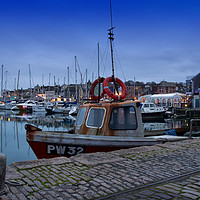 Buy canvas prints of Fishing boat by Peter Hunt