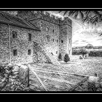 Buy canvas prints of Blencowe Hall by Peter Hunt