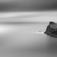 Buy canvas prints of Silky Sea off Boscastle, Cornwall by Mick Blakey