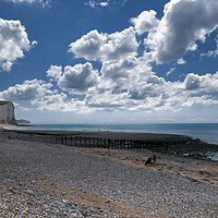 Buy canvas prints of Cuckmere Haven by Mark Jones