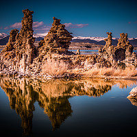 Buy canvas prints of Mono Lake with its amazing Tufa towers - travel ph by Erik Lattwein