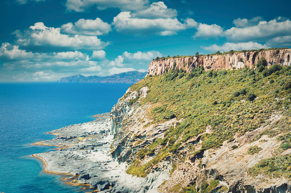 Amazing coastline of Sardinia Canvas Print by federico stevanin