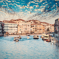 Buy canvas prints of The Gran Canal In Venice by federico stevanin