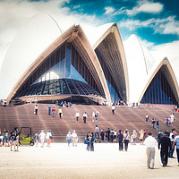 Buy canvas prints of Sydney Opera House by federico stevanin