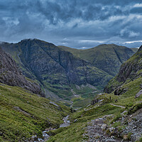 Buy canvas prints of A walk into the Hills by Nathalie Naylor