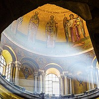 Buy canvas prints of Dome Crusader Church Holy Sepulchre Jerusalem Isra by William Perry