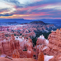 Buy canvas prints of Thor's Hammer Sunset Point Bryce Canyon National P by William Perry