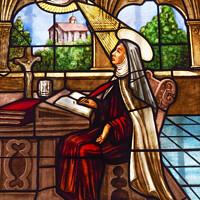 Buy canvas prints of Saint Teresa Convento Santa Teresa Avila Castile Spain by William Perry