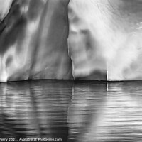 Buy canvas prints of Iceberg Reflection Paradise Bay Skintorp Cove Antarctica by William Perry