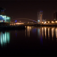 Buy canvas prints of Salford Quays Theatre by Wayne Molyneux