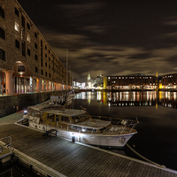 Buy canvas prints of Albert Dock Liverpool by Wayne Molyneux
