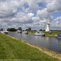 Buy canvas prints of Thurne Mill by Christopher Keeley