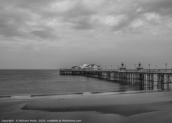 Blackpool pier Framed Print by Richard Perks