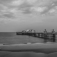 Buy canvas prints of Blackpool pier by Richard Perks