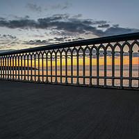 Buy canvas prints of splitting the sunrise by Richard Perks