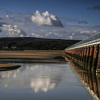 Buy canvas prints of Arnside Reflection by Richard Perks