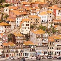 Buy canvas prints of EUROPE PORTUGAL PORTO RIBEIRA OLD TOWN by urs flueeler