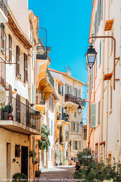 Cannes City, French Riviera, Travel Cote D'Azur Framed Mounted Print by Radu Bercan