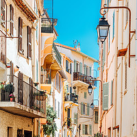 Buy canvas prints of Cannes City, French Riviera, Travel Cote D'Azur by Radu Bercan