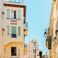Buy canvas prints of Cannes City, French Riviera, Urban France Houses by Radu Bercan