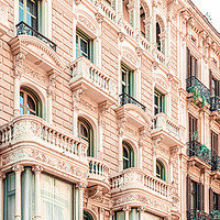 Buy canvas prints of Barcelona Architecture, Travel To Barcelona City by Radu Bercan