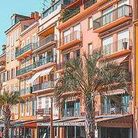 Buy canvas prints of Beautiful Exotic Architecture, Cannes City France by Radu Bercan