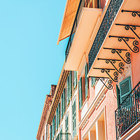Buy canvas prints of Cannes City Architecture, French Riviera Building by Radu Bercan