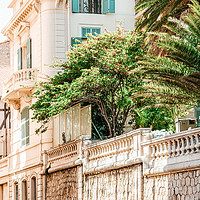 Buy canvas prints of Charming Cannes City Streets, France Cote D'Azur by Radu Bercan
