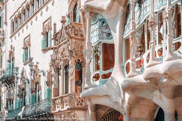 Casa Batllo, Antoni Gaudi Architecture, Barcelona Acrylic by Radu Bercan