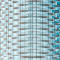 Buy canvas prints of Glass Abstract, Skyscraper Tower, Lines Pattern by Radu Bercan