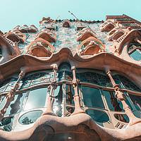 Buy canvas prints of Casa Batllo, Barcelona City Travel, Antoni Gaudi by Radu Bercan