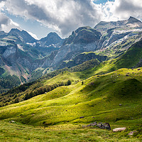 Buy canvas prints of Dramatic Clouds over the French Pyrenees by Pere Sanz