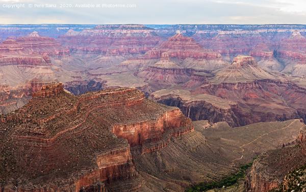 Grand Canyon South Rim, AZ, USA Canvas Print by Pere Sanz