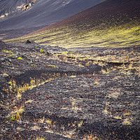 Buy canvas prints of Extreme Volcanic Landscape in the Highlands by Pere Sanz