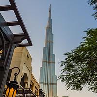 Buy canvas prints of Burj Khalifa tower by Nicolas Boivin