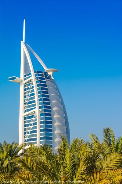 Burj Al Arab luxury hotel Acrylic by Nicolas Boivin