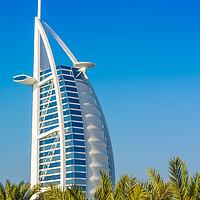 Buy canvas prints of Burj Al Arab luxury hotel by Nicolas Boivin