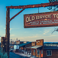 Buy canvas prints of Old Bryce Town by Nicolas Boivin