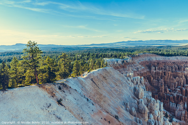 Bryce Canyon National Park Canvas Print by Nicolas Boivin