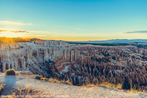 Bryce Canyon National Park Framed Mounted Print by Nicolas Boivin