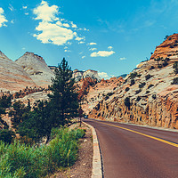Buy canvas prints of Zion National Park by Nicolas Boivin