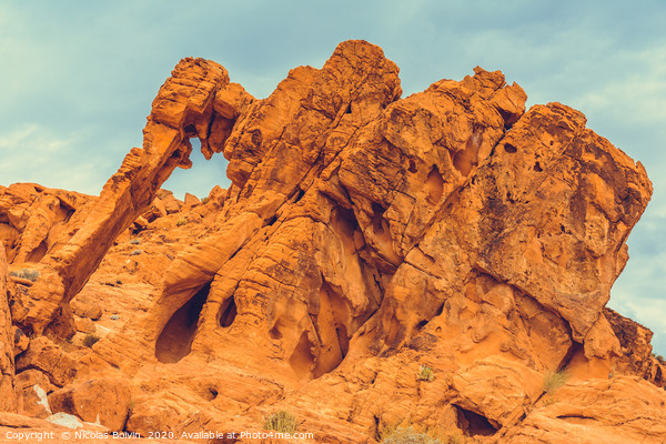Valley of Fire State Park Acrylic by Nicolas Boivin